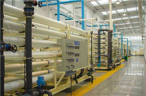 雪花啤酒120吨纯水在线清洗工程