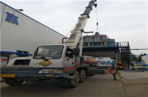 伊利乳业蒸发器清洗工程