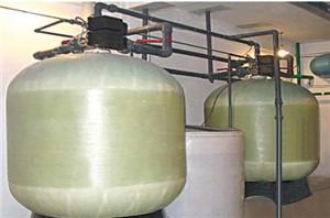 光明乳业30吨时软化水工程